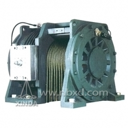 Gearless Motor For Elevator